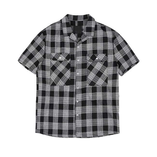 WESTERN CHECK SHIRT BLACK