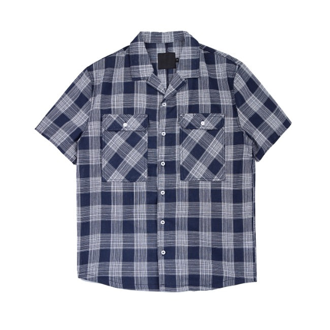 WESTERN CHECK SHIRT NAVY