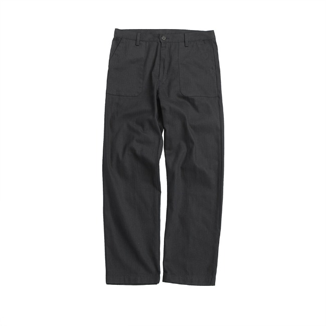 HBT CURVES PANTS BLACK