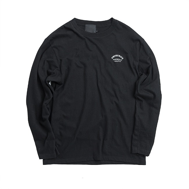 DIMITRI LOGO SHIRT  BLACK