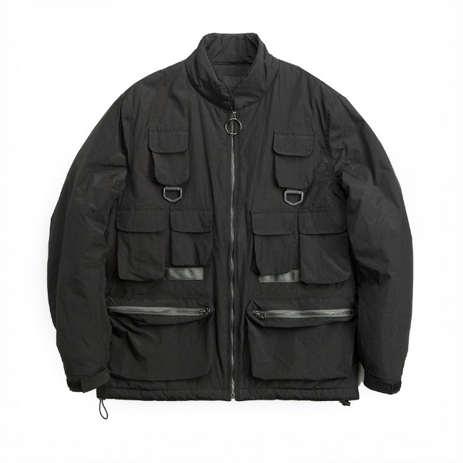 FISHERMAN THINSULATE JACKET BLACK