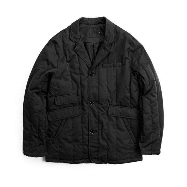 YUSUPOV GOOSE DOWN JACKET BLACK