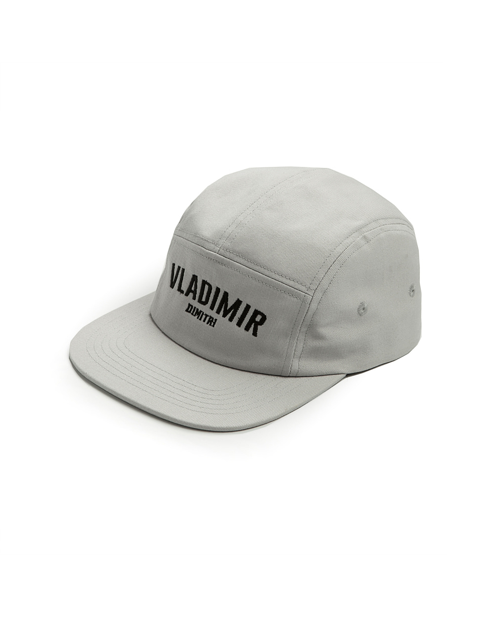 TWILL LOGO CAMP CAP GRAY