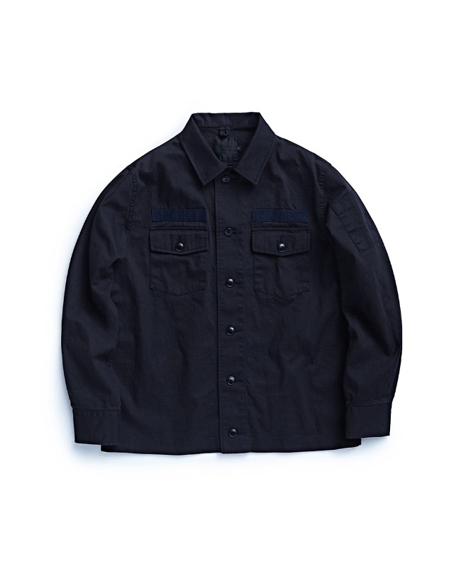 107 FIELD JACKET NAVY
