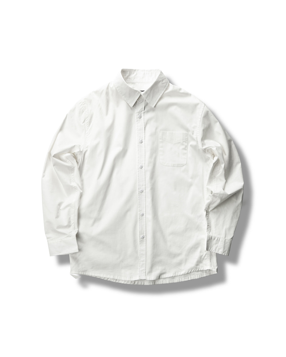 PRACTICAL ROUND SHIRTS WHITE