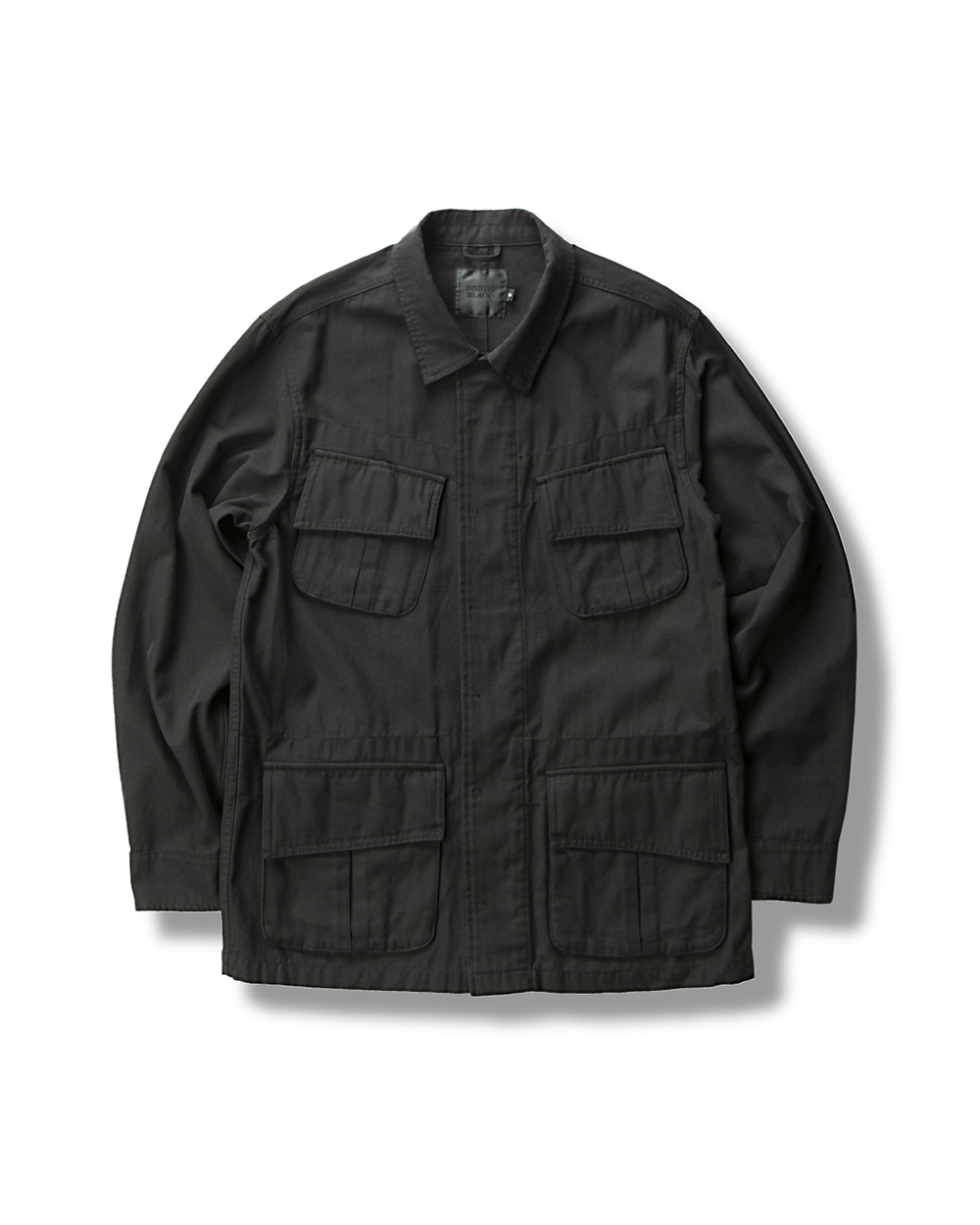 UTILITY JUNGLE FATIGUE JACKET BLACK