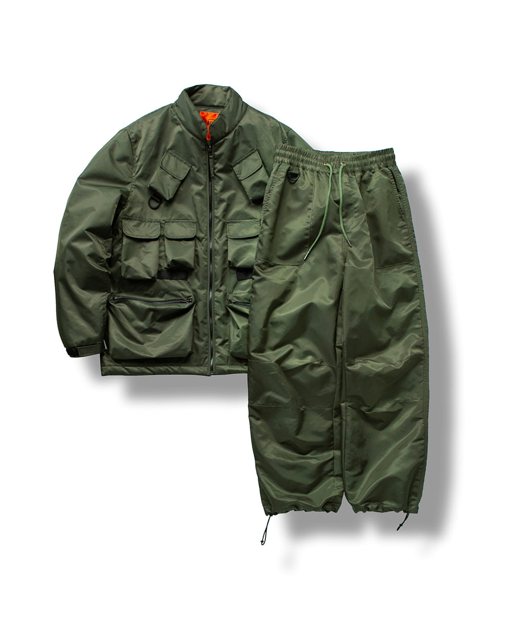 (VLADIMIR) FISHERMAN UTILITY SET UP OLIVE