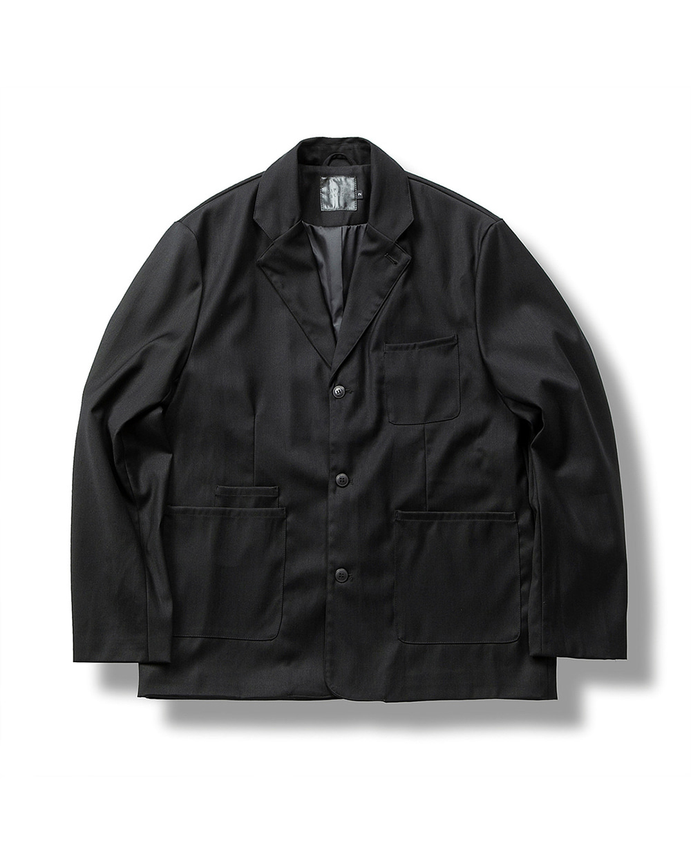 (FW) FORMAL JACKET BLACK