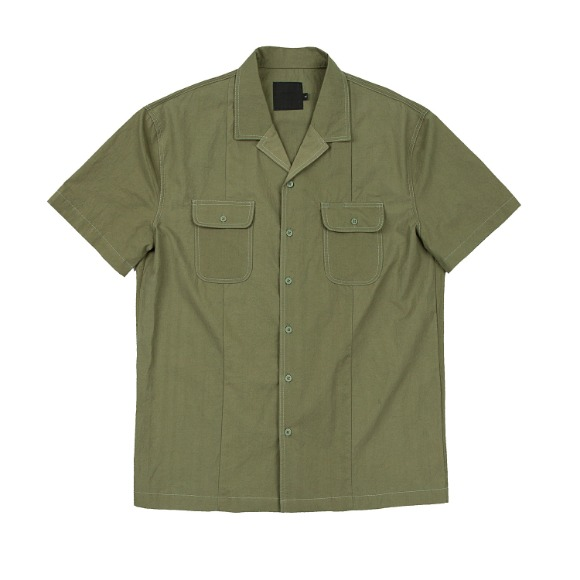 CRISPY PEN POCKET SHIRT KHAKI