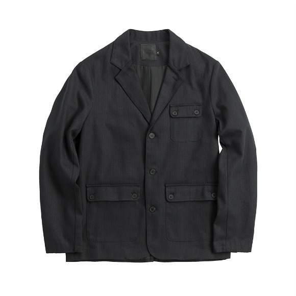 HBT CURVES JACKET BLACK