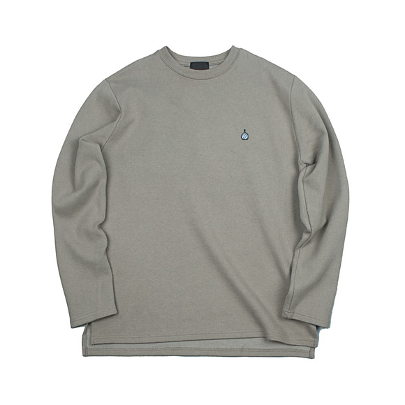 CREWNECK SWEAT SHIRT BEIGE (19FW)