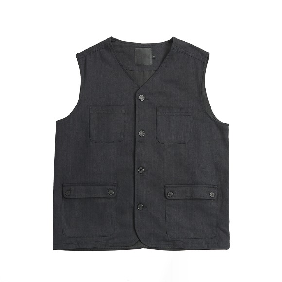 HBT CURVES VEST BLACK