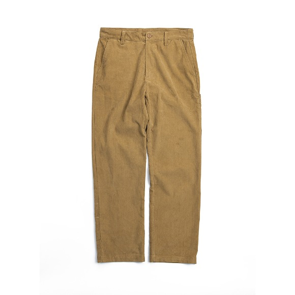CORDUROY FATIGUE PANTS CHESTNUT