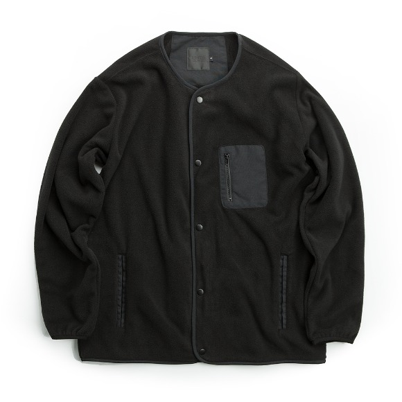 YUSUPOV FLEECE JACKET BLACK