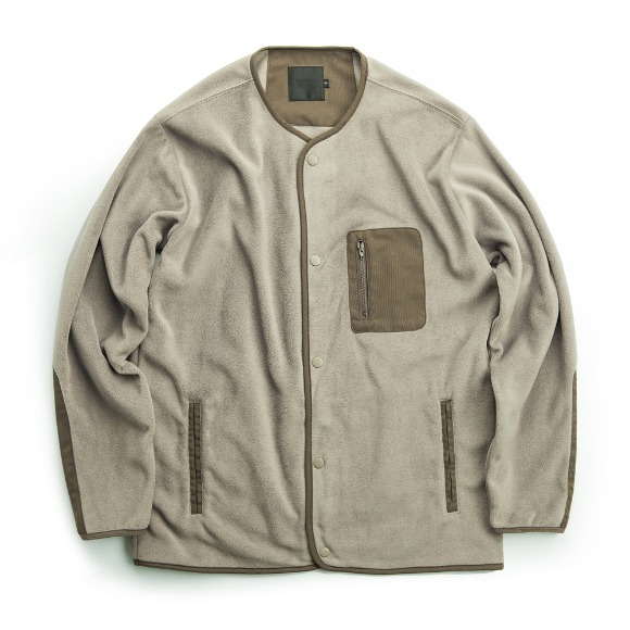YUSUPOV FLEECE JACKET BEIGE