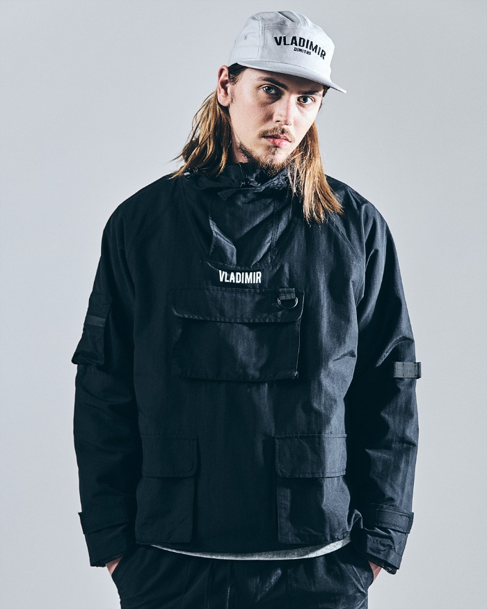 WATERPROOF UTILITY ANORAK BLACK
