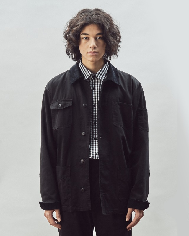 FRENCH WORK JACKET BLACK