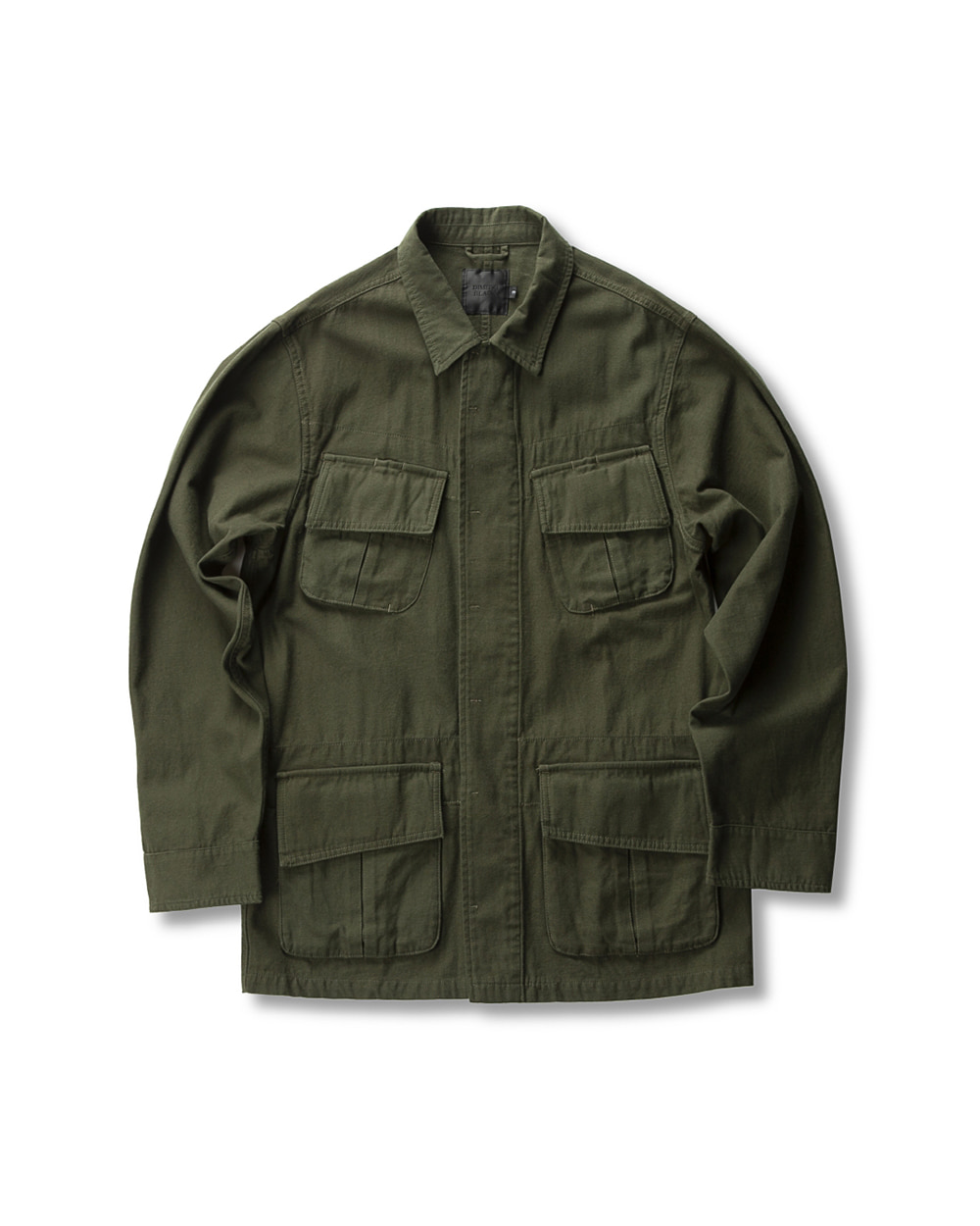 UTILITY JUNGLE FATIGUE JACKET OLIVE