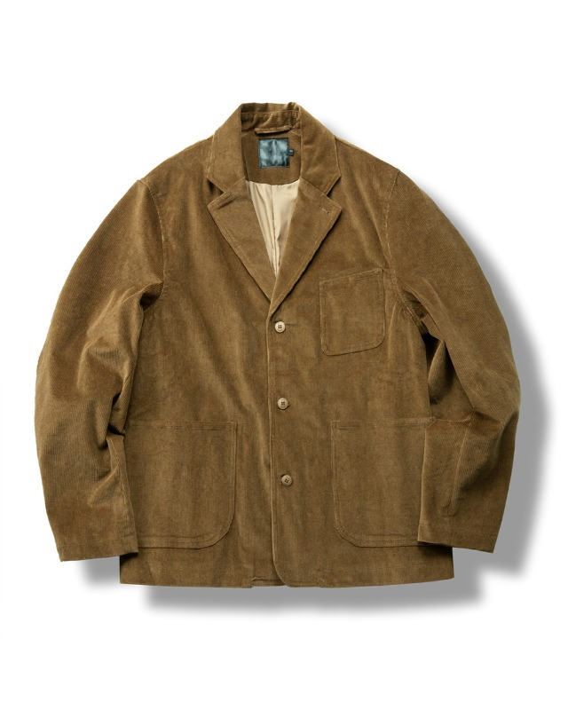 CORDUROY DAILY JACKET CHESTNUT