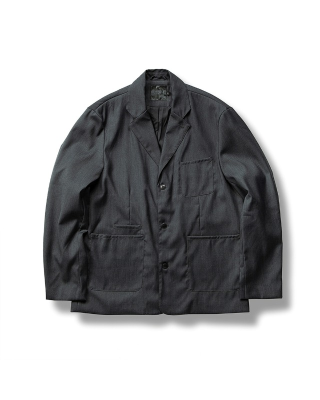 (FW) FORMAL JACKET DARK GRAY