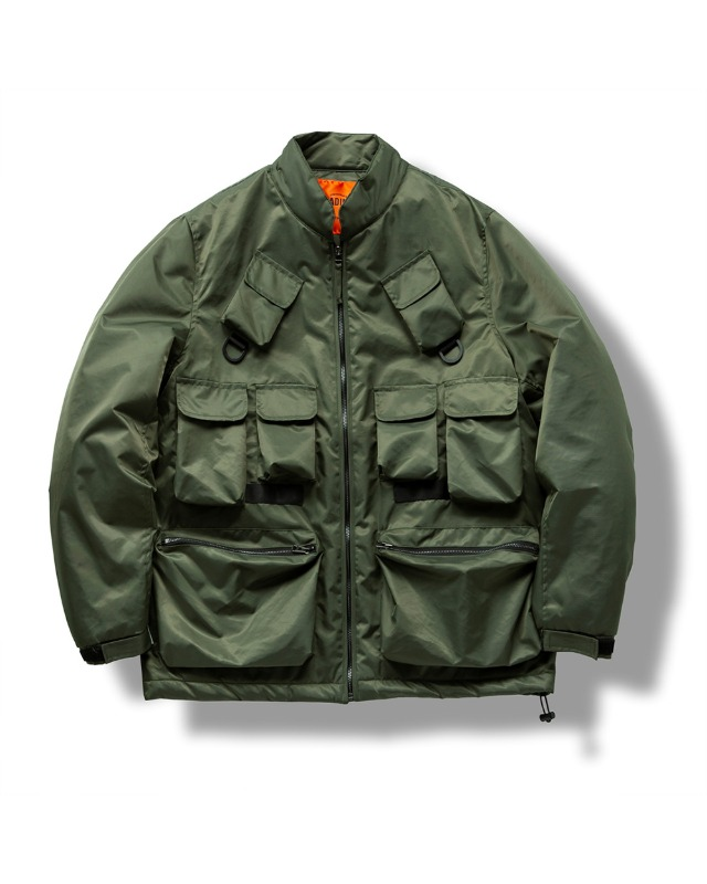(VLADIMIR) FISHERMAN THINSULATE JACKET OLIVE